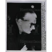 1953 Press Photo Budapest, Hungary, businessman Edgar Sanders, espionage agent