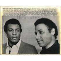 1969 Press Photo Charles Koen Black Liberators Phillip Hutchings Student Non