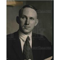1919 Press Photo W.W. Smith, Y.M.C. A. Apartment Secretary.
