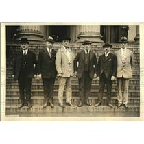 1923 Press Photo Portrait of Police Chiefs Meeting in Washington DC
