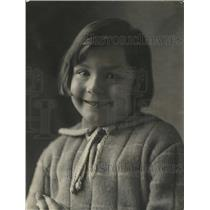1924 Press Photo Nimet Yousry, daughter of Egyptian Minister