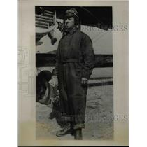 1927 Press Photo R.O, Marsh, civil engineer & explorer - nea74349