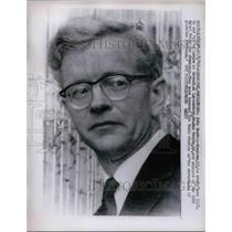 1962 Press Photo Dr John Cowdery-Kendrew Winner of Nobel Prize - nea75125