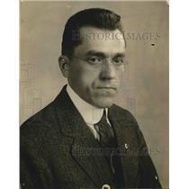1919 Press Photo Dr. J. Semolunas posing for photo