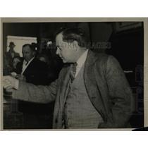 1934 Press Photo Atty Hart a union organizer from D.C. - nea69554