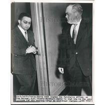 1950 Press Photo Harry Fold Trial Espionage US Deputy Marshall - nea93907
