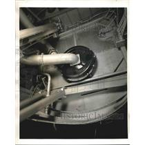 1940 Press Photo Supercharger of Pan American Airways Strato-Clippers.