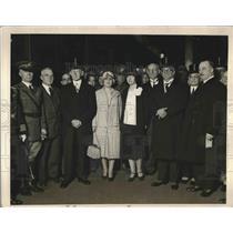 1927 Press Photo Cuban Pres. Gerardo Machado visiting Chicago - nea90977
