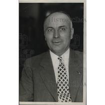 1928 Press Photo J.H. Bilkey, Ohio State Police Chief Association