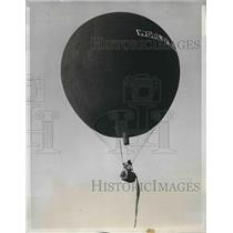1933 Press Photo Belgian entry in Gordon Bennett Intl. Balloon Race. - nea77684