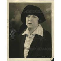 1924 Press Photo Mts Mary Hamilton, NYC 1st policewoman