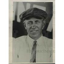 1929 Press Photo Pilot Of The Mono Plane Owen Haughland Setting New Record