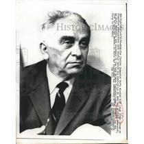 1964 Press Photo Italian Communist party leader Luigi Longo - nea83259