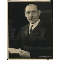1923 Press Photo Bishop Thomas Nicholson of M.E Church of Chicago. - nea90726