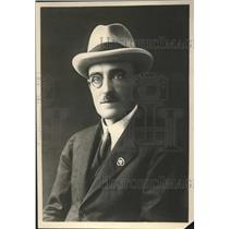 1926 Press Photo Capt Herbert Vice Chairman of Clab Line Steamers