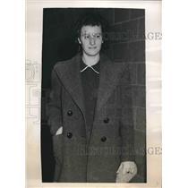 1938 Press Photo Johanna Hofman On Trial As German Spy - nea91669