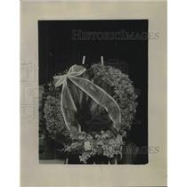 1923 Press Photo President Harding's Funeral Flowers
