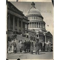 1931 Press Photo Communists meeting in Washington, D.C.