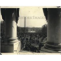 1923 Press Photo Easter Egg roll on the White House lawn