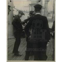 1924 Press Photo US Coast Guard Fleet off NY Coast
