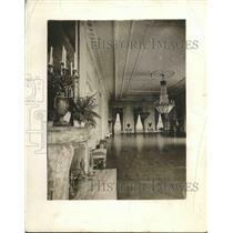 1919 Press Photo East Room, White House, Washington, D.C. - nea90153
