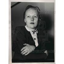1937 Press Photo Margaret Fish, American Airlines hostess named Most Charming