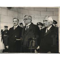 1927 Press Photo Cuban Pres. Gerard Machado, O Ferrara & Us Sec Kellogg