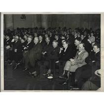 1935 Press Photo Crowd at Senate Coal Code Hearing in Washington DC - nea83579