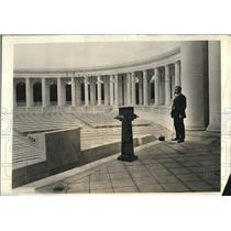 1921 Press Photo Arlington Memorial Ampitheater for Pres. Harding address