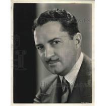 1931 Press Photo Bryant Washburn as Charles Bates in Kept Husbands, Radio