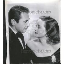 1950 Press Photo Bette Davis and Gary Merrill - RRT67617