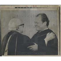 1973 Press Photo Willie Brandt Ostpolitik Germany - RRT47411