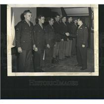 1944 Hells Angels Air Force Receiving Metal Press Photo - RRT14367