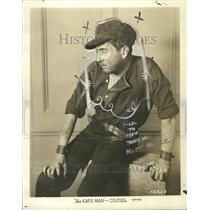 1926 Press Photo Matt Moore The Cave Man Actor - RRT05659