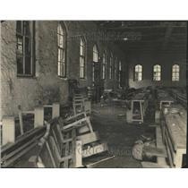 1931 Press Photo Prison Penitentiary Riot Violence - RRT17921