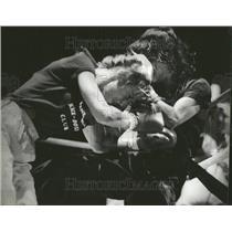 1981 Press Photo Wheeler Graciela Casilla Bantam Weight - RRT24967