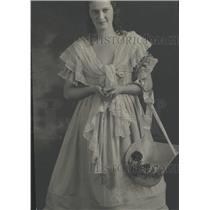 1922 Press Photo Lewellen Davis Period Dress - RRT50705
