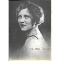 1930 Press Photo Actress Margaret Frueauff Fanning Perr - RRT68423