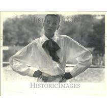1985 Press Photo Dud Jacket Cotton Sleeve Retailer Long - RRT31233