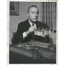 1964 Press Photo Charles Boyer French Film & TV Actor - RRT99949