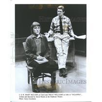 Press Photo Stage Actors Mary McCann Treat Williams - RRT87585