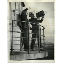 1938 Press Photo W J Conrad Mike Murphy Airplanes - RRT33773