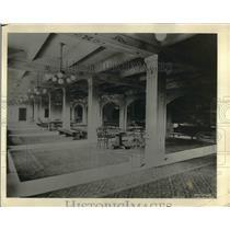 1924 Press Photo Lounge Room at St Paul Municipal Auditorium