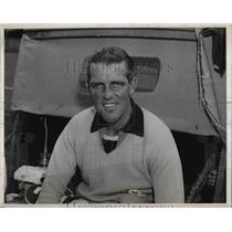 1939 Press Photo Eric Tyrrell-Martin for Intl Cup match