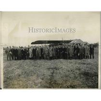 1927 Press Photo University of Pennsylvania Aero Club, Philadelphia Airport