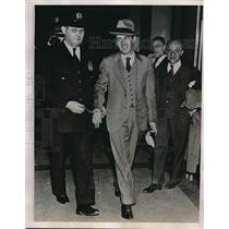 1935 Press Photo Martin Mooney Reporter