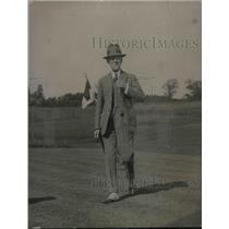 1920 Press Photo Arthur Coolidge Golfing Ambassador To Brazil
