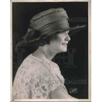 1921 Press Photo Mushrooms Hat