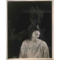 1921 Press Photo Black King Paradise Joseph