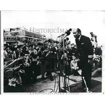 1970 Press Photo Capt. Shinji Ishida of airliner hijacked by Leftist students